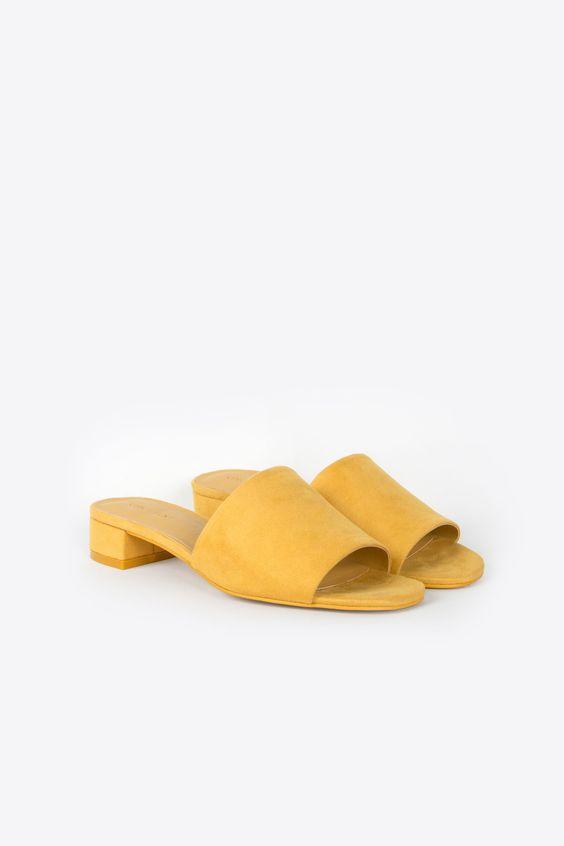 OAK + FORT Summer 2017 Mustard Mule 1484