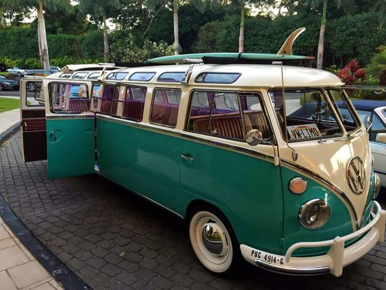Just a car guy : VW bus limo on Maui... very very cool. Thanks Ben!