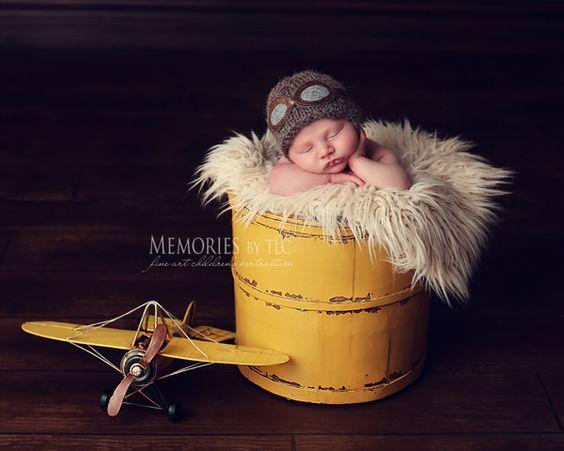 Newborn photography prop tips