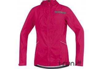 Gore Running Wear Veste AIR Gore-Tex Active W pas cher - Vêtements femme running Vestes / coupes vent en promo