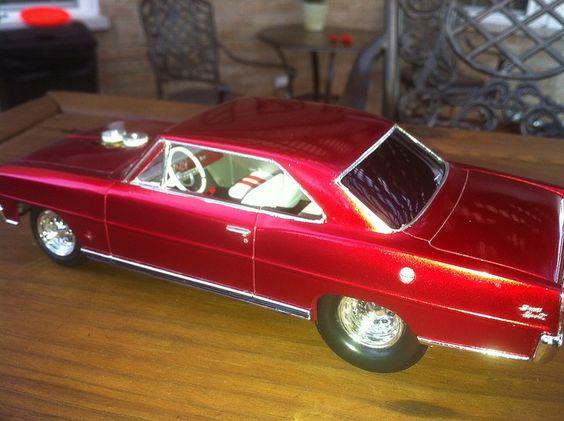 1 25 66 Chevy Nova Pro Street Amtamt636 Amt Plastic Model Cars