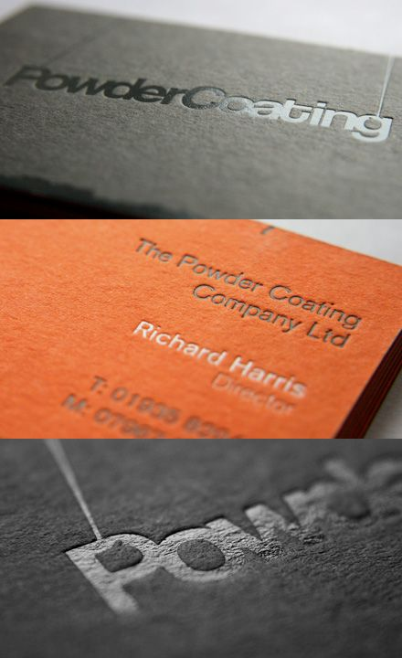Powder Coating's Business Card
