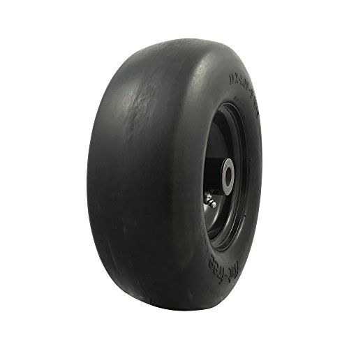 Marastar 00232 Universal Fit Flat Free 11 X4 00 5 Lawnmower Tire Assembly