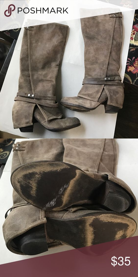 Fergie. Size 7.5 all leather. Great condition. Fergie Shoes Heeled Boots