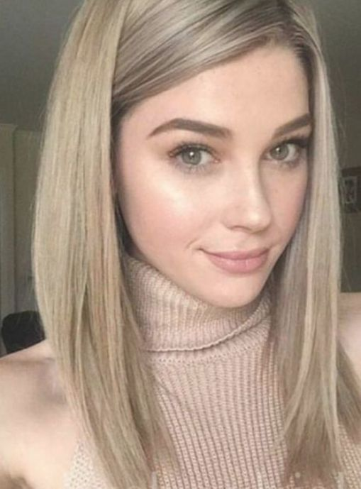 Cute Hairstyles For Medium Straight Hair With Side Bangs In 2020 Straight Hairstyles Medium Straight Hairstyles Medium Hair Styles