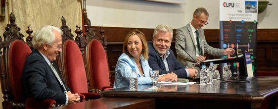 El Premio Nobel de Física 2018, Gérard Mourou, ofrece una conferencia divulgativa en el Paraninfo de la Universidad de Salamanca | Sala de Prensa