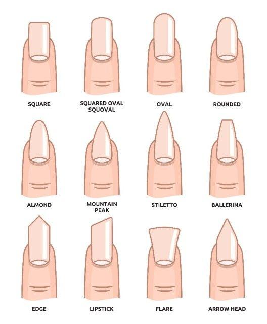 Perfekte Fingernägel – eckig, rund, spitz, kurz oder lang? So ...