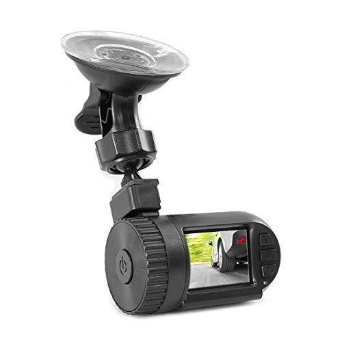 Pyle Compact HD Dash Cam, Hi-Res 1080p DVR Video Recording, Image Capture, LCD Display, Micro SD Car... #deals