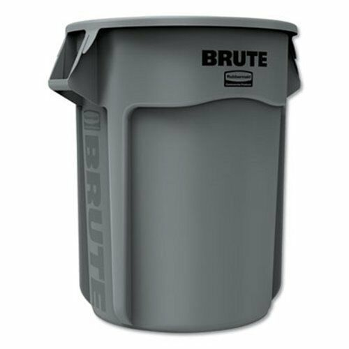 Rubbermaid Brute 55 Gallon Round Trash Can Gray Rcp265500gy Trash Cans Ideas Of Trash Cans Trashcan Rubbermaid Commercial Products Trash Can Rubbermaid