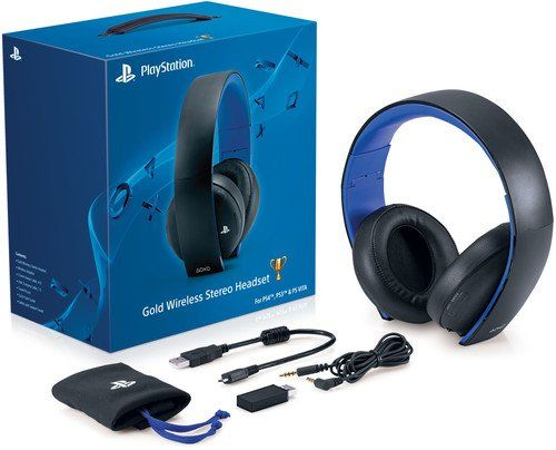 Discounted Playstation Gold Wireless Stereo Headset Jet Black Console Playstationgoldwirelessstereoheadset Jetblack Playstation Gold Headset Gaming Headset