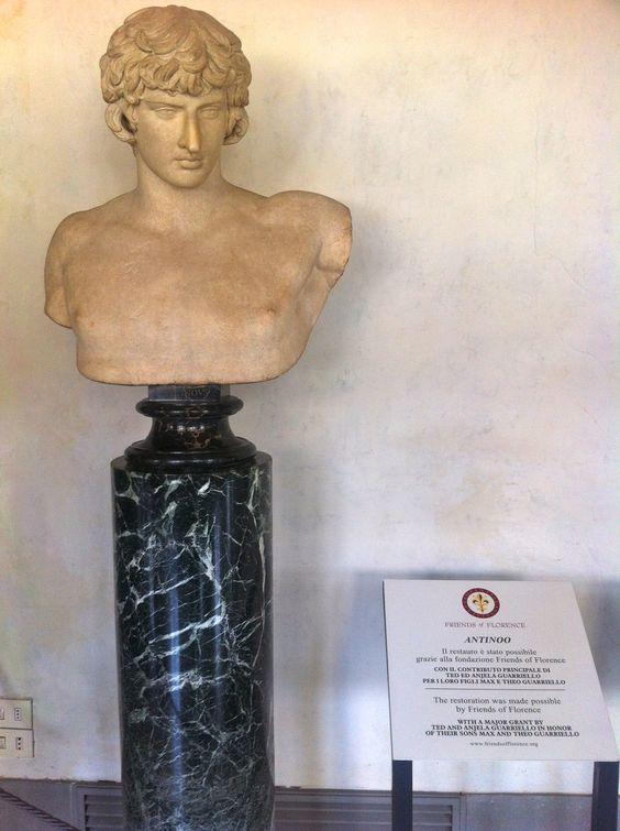 FIRENZE. Galleria degli Uffizi. Antinoo, emperor Adrianus' beloved one.