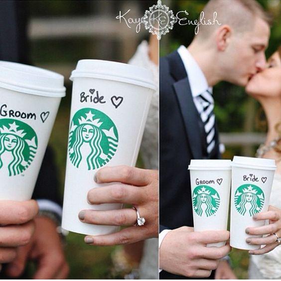 Mariage: et si on se disait «oui» chez Starbucks? | Femina