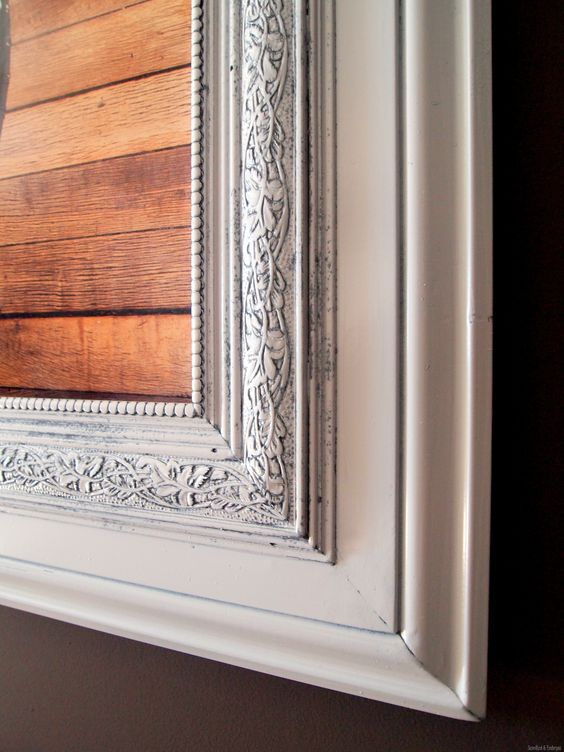Build a Custom Frame out of Trim Pieces   Fotos, Grado de ...