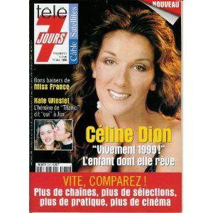 T l 7 jours n 2010 du 05 12 1998 c line dion - Vente privee celine dion ...