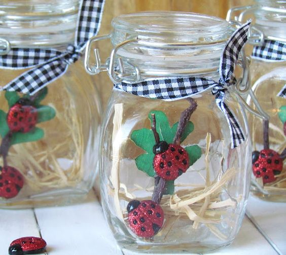 Ribbons & Glue: Pretty Lil' Ladybug Party...
