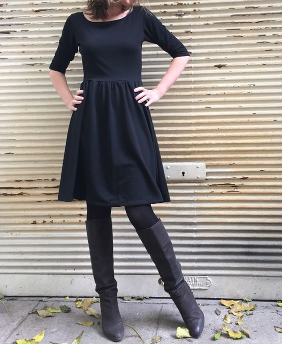 Moneta from colette patterns - nice simple skater style dress that could be adapted