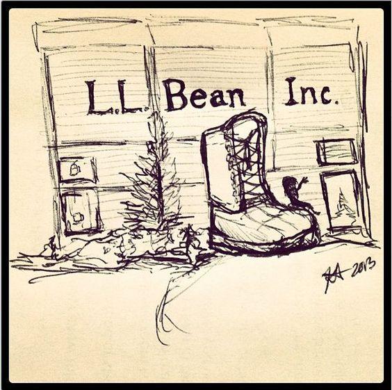 L.L.Bean via Instagram @ Kathrynemily