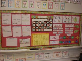 Daily Calendar Routine based on 2nd grade CCSS