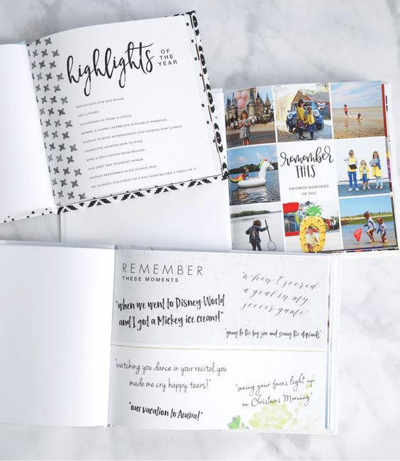 23 Genius Ideas To Make Your Yearly Family Photo Book Shine - what moms love