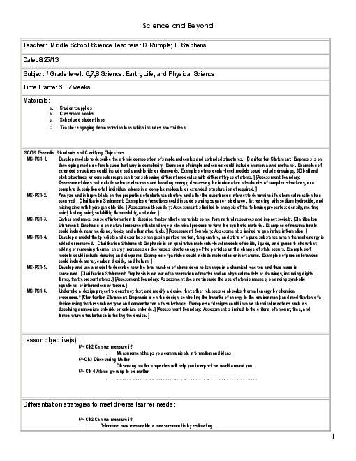 5e science lesson plans for 5th grade 5e lesson plans for 5 e model lesson plan template