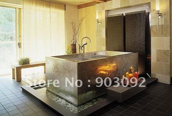 top selling freestanding creative hand carved natural stone claw foot soaking bathtub