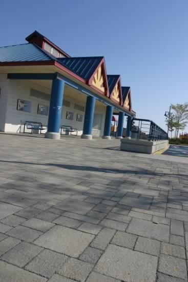 Unilock - Waterpark featuring Il Campo paver by Unilock
