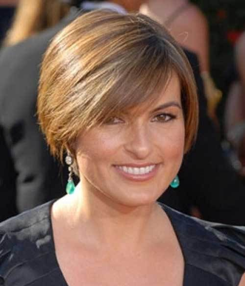 Fine Hair Round Face Short Hairstyles For Over 50 8