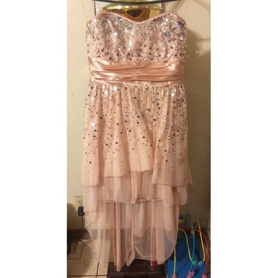 dELIA*s Homecoming/Prom Dress Beautiful Pink/Peach color. High Low Size 7 and only worn twice! Make me an offer! WINDSOR Dresses