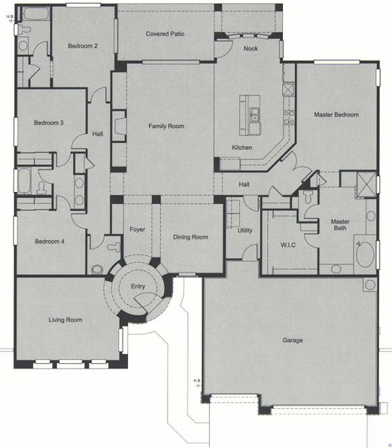 Del webb floor plans anthem az gurus floor for Custom home floor plans az