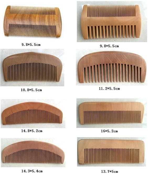 Stupendous Hot Selling Oem Logo Cheap Wooden Hair Beard Comb Buy Beard Comb Hairstyles For Women Draintrainus