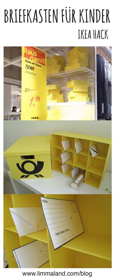 ikea hacks briefk sten and hacks on pinterest. Black Bedroom Furniture Sets. Home Design Ideas
