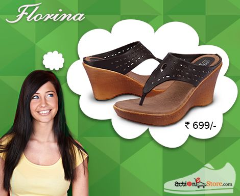 These Wedge heel from our FLORINA range will surely make heads turn. See more here