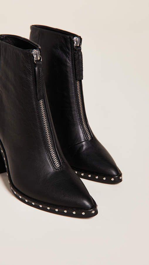 Sol Sana Axel Block Heel Boots #Axel