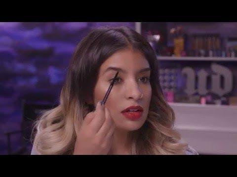 """Brow Beater & Brow Tamer da UD na Loja Glamourosa  Aprenda a moldar as sobrancelhas com Amanda Rodriguez, a """"Artist-in-Residence"""" da Urban Decay.  #urbandecay #browtamer #browbeater #makeup"""