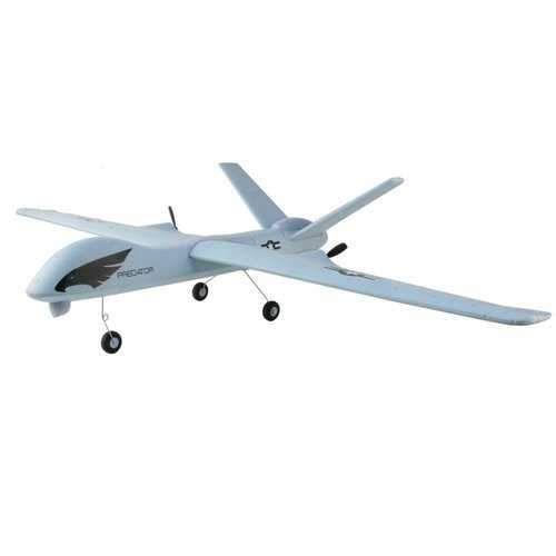 Z51 Predator 660mm Wingspan 2 4g 2ch Epp Diy Glider Rc Airplane Rtf Built In Gyro Rc Airplanes Gliders Remote