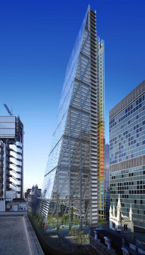 122 leadenhall street london uk architectural design for Nouveau batiment londres