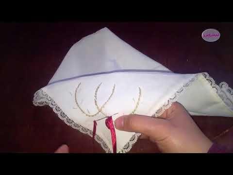 24768 للعرائس و للمبتدئين طريقة الطرز بشرائط الساتان علي مناديل القهوةو النتيجة راقية Youtube Bed Pillows Pillows Pillow Cases