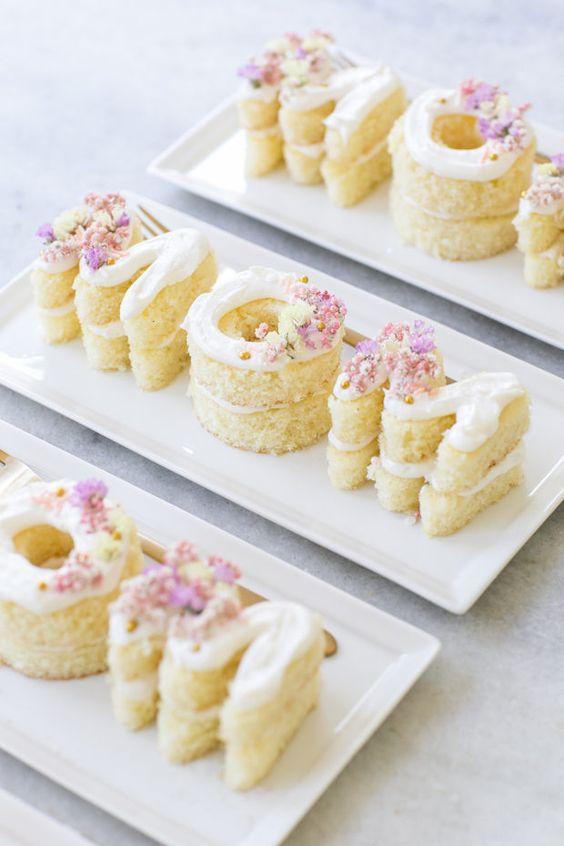 Mini Mom Cakes For Mother's Day #mothersday #mom #dessert #easydessert #cake