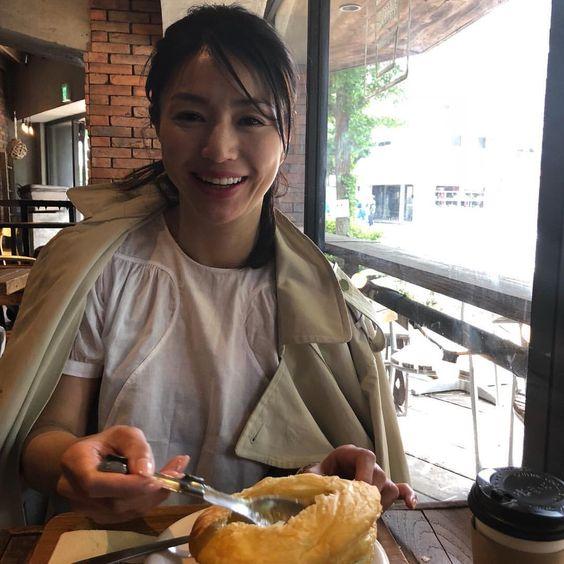 井川遥のパン