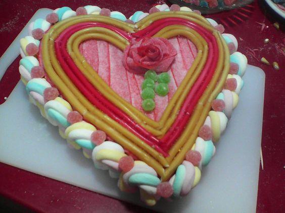 Tarta de Chuches para el día de San Valentín
