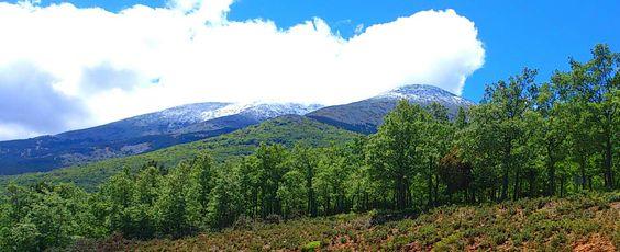 Petita enfarinada del pic de Moncayo, al Aragó, el 23 Maig 2014.