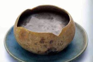 This is pozol which becomes atole when thickened.  Can be eaten with different ingredients. Vic chose chili peppers. http://www.los-dos.com  has some interesting reading re Mayan food.
