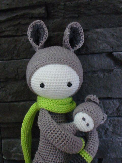 KIRA the kangaroo made by Madamour Amigurumis cuties ...