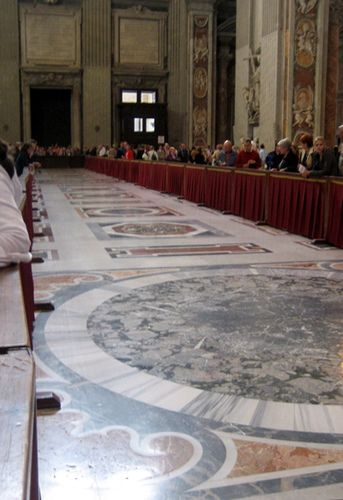 St. Peter's Basilica, The Vatican...plaques In The Floor