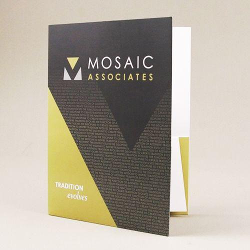 Ejemplos de Carpetas Creativas para Identidad Corporativa - resume presentation folder