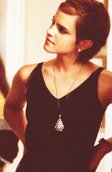 1000 ideas about emma watson short hair on emma watson pixie shorter