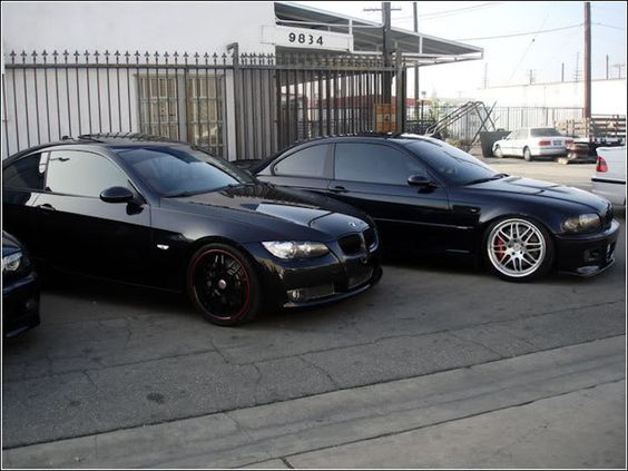 This lowered ride keeps good company! You can lower your ride too: http://www.eurosporttuning.com/bmw/suspension/coilover-kits/v-maxx-coilover-kit-e46-m3.html