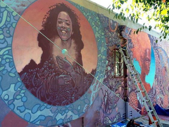 muralist Joshua Mays