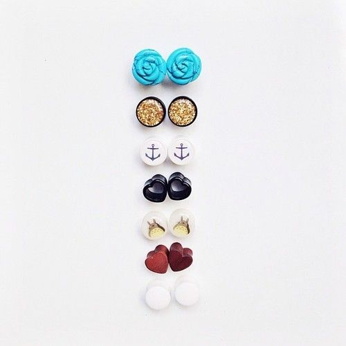 - Sweets #personal #plugs #12mm #turquoise #heart #wood #anchor #totoro #favorites (à Justin Timberlake - Mirrors )