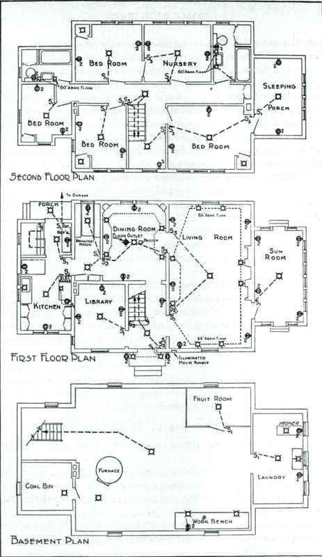 Electrical Plan For House 4 Way Switch Electrical Plan Electrical House Plan Pdf In 2020 Electrical Plan House Plans Electrical Layout